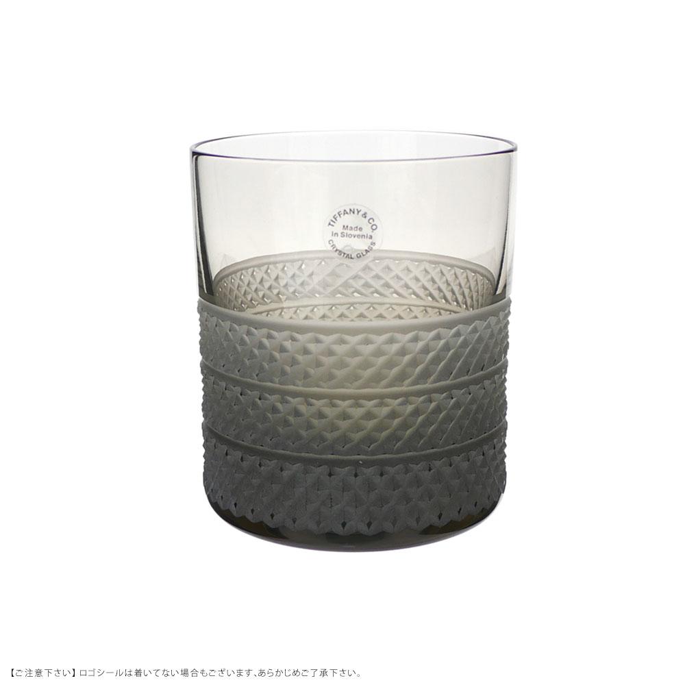新品 驚きの価格が実現 ティファニー TIFFANYCO. ダイヤモンドポイント シングル オールドファッションド 灰色 グレー レディース メンズ 新品未使用正規品 グラス GRAY