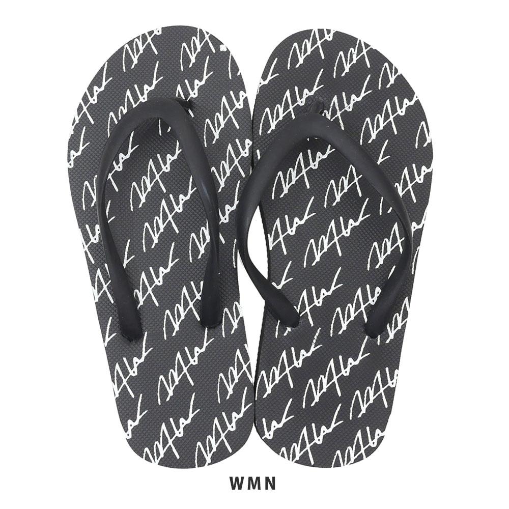 新品 ダブルティー WTW WOMENS LOGO 限定Special Price BEACH SANDAL サンダル 黒 2020A/W新作送料無料 レディース BLACK ビーチ ブラック 新作