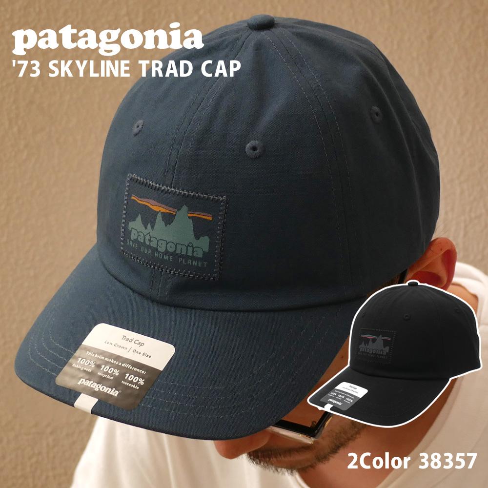 新品 パタゴニア Patagonia 21FW '73 SKYLINE TRAD CAP 73 スカイライン 新作 38357 キャップ 21AW 2021AW トラッド 2021FW 2020 トラスト メンズ 21FA