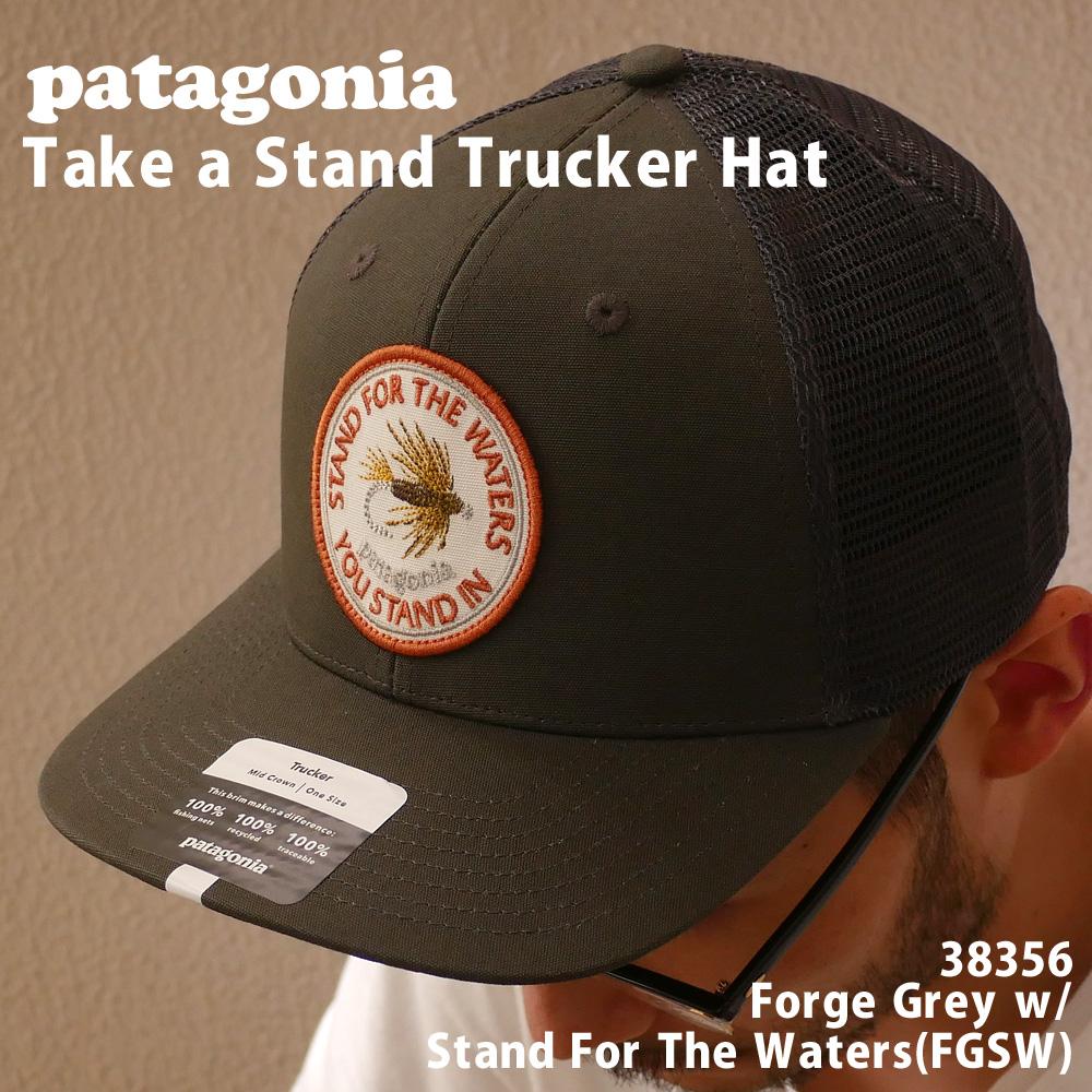 新品 パタゴニア Patagonia 21FW 5☆好評 TAKE A STAND TRUCKER HAT 安全 メッシュ FGSW 21AW 新作 2021AW 2021FW 21FA 38356 メンズ キャップ