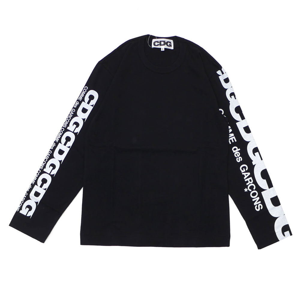 CDG シーディージー CDG LS TEE 長袖Tシャツ BLACK 202000967031 【新品】 COMME des GARCONS コムデギャルソン