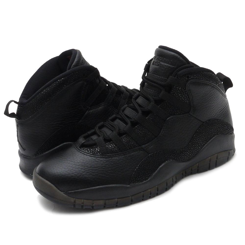 cheap for discount 1dc62 df237 NIKE (Nike) AIR JORDAN 10 RETRO OVO (Air Jordan) BLACK/BLACK-METALLIC GOLD  819,955-030 291-002020-281+