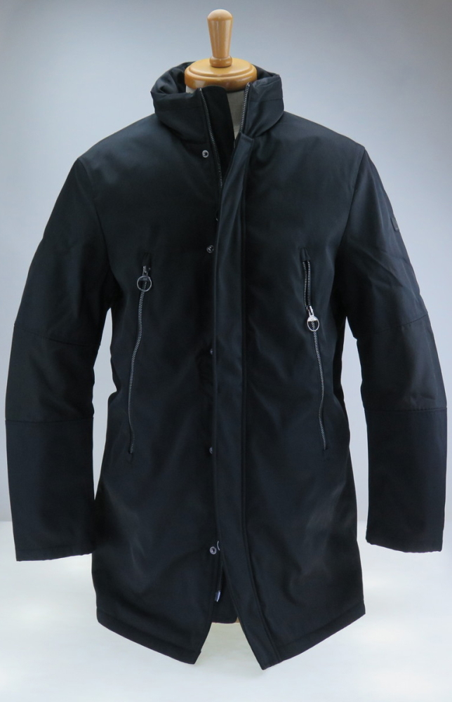 ARMANIEXCHANGE A|Xアルマーニエクスチェンジ スタンドカラーナイロンジャケット 黒 BLACK 295