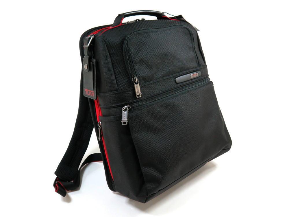 【TUMI】トゥミ 263177 Slim Solutions Brief Pack IDロック(個人情報保護) PC収納可能 バリスティックナイロン バックパック ビジネスバッグ 475