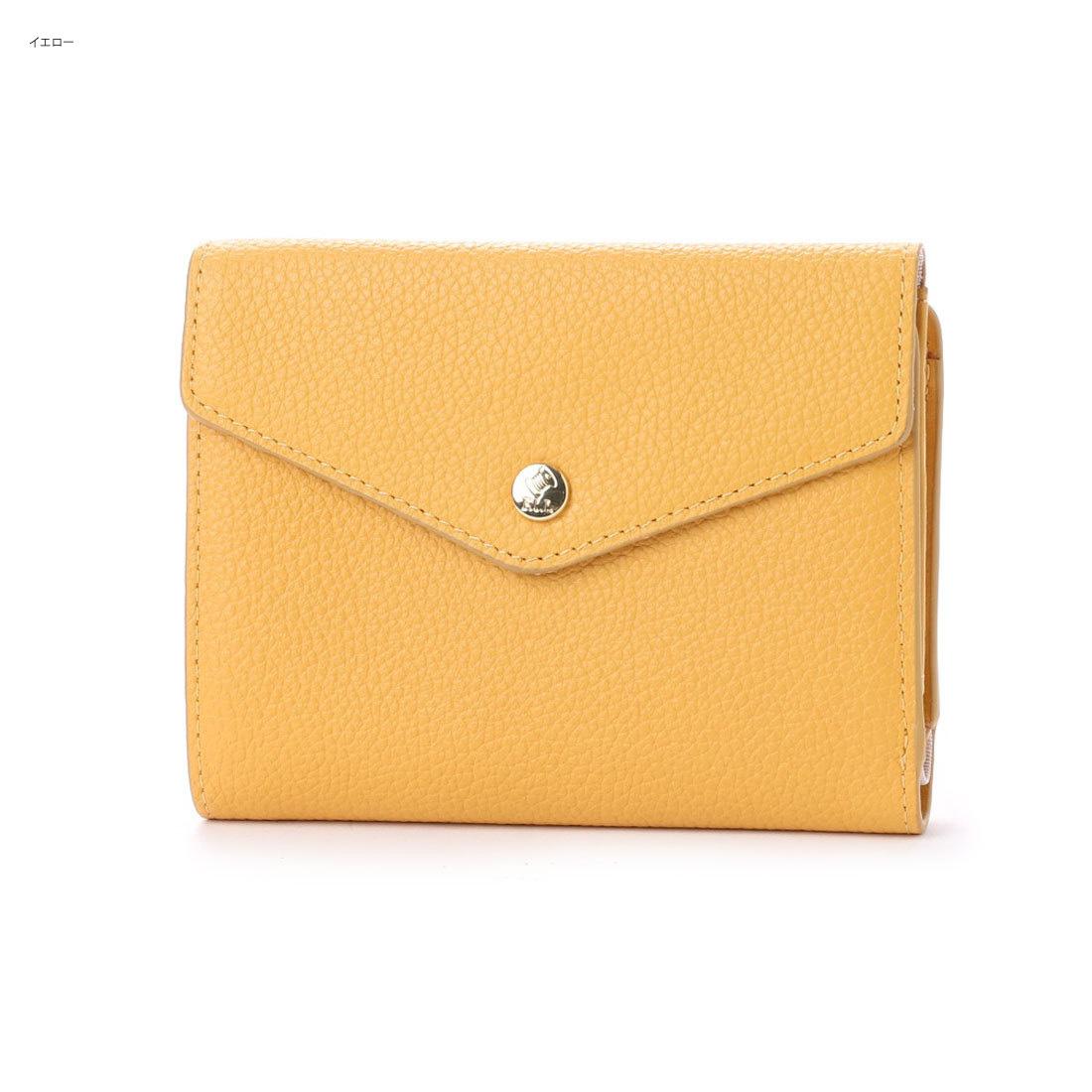 LE CHEVAL AILE(シュヴァル・エレ)Binaire (ビネール)シュリンク スムースレザー 封筒型 フラップ 二つ折ウォレット / 二つ折り財布