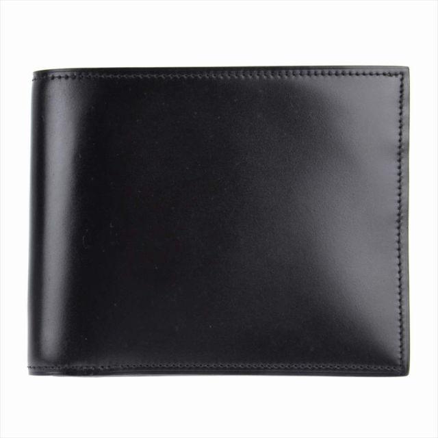 SONNE(ゾンネ)Kaiser(カイザー) 水染めコードバン 二つ折り財布 soc002re