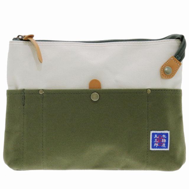 日本製 豊岡鞄 木綿屋五三郎 富士金梅 サコッシュ ミニショルダー S