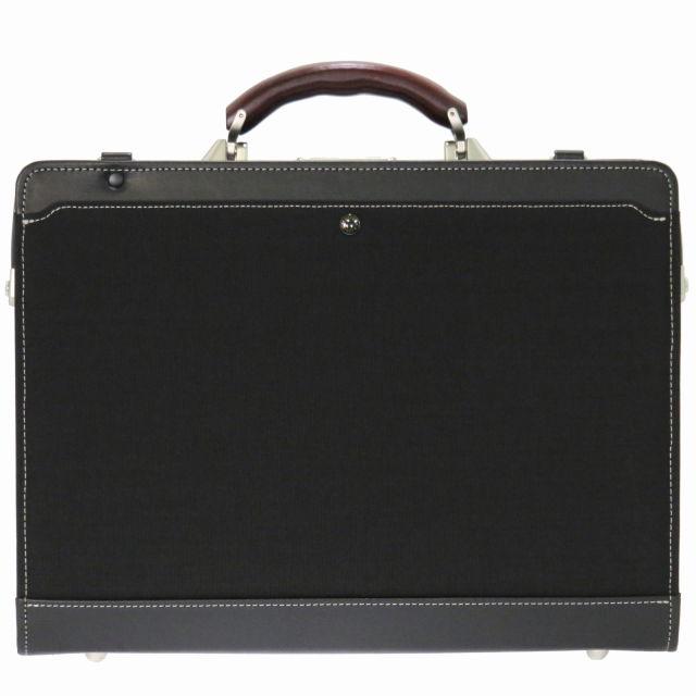 Kiwada (木和田) ビートテックス 木ハンドル ダレス ビジネスバッグ 豊岡鞄