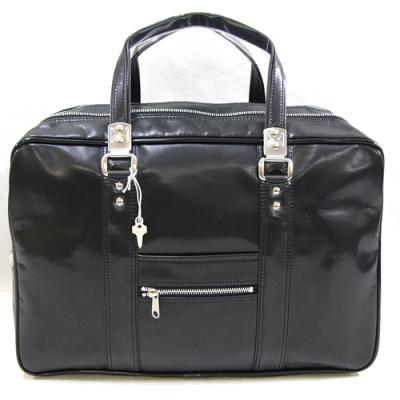 日本製 豊岡鞄 ガブロンY付 銀行 ボストンバッグ 45cm
