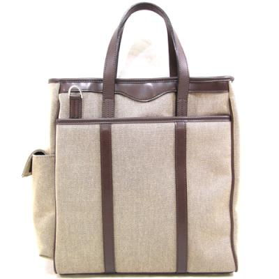 織人 Wファスナー 2WAY 縦型ビジネスバッグ 豊岡鞄