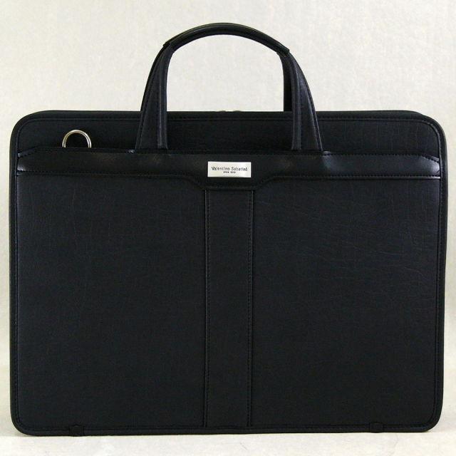 ヴァレンチノ・サバティーニ フェイクレザー ビジネスバッグ / ブリーフケース 豊岡鞄