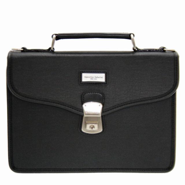 ヴァレンチノ・サバティーニ フェイクレザー ビジネスバッグ / ブリーフケース 豊岡鞄 A5ファイル対応