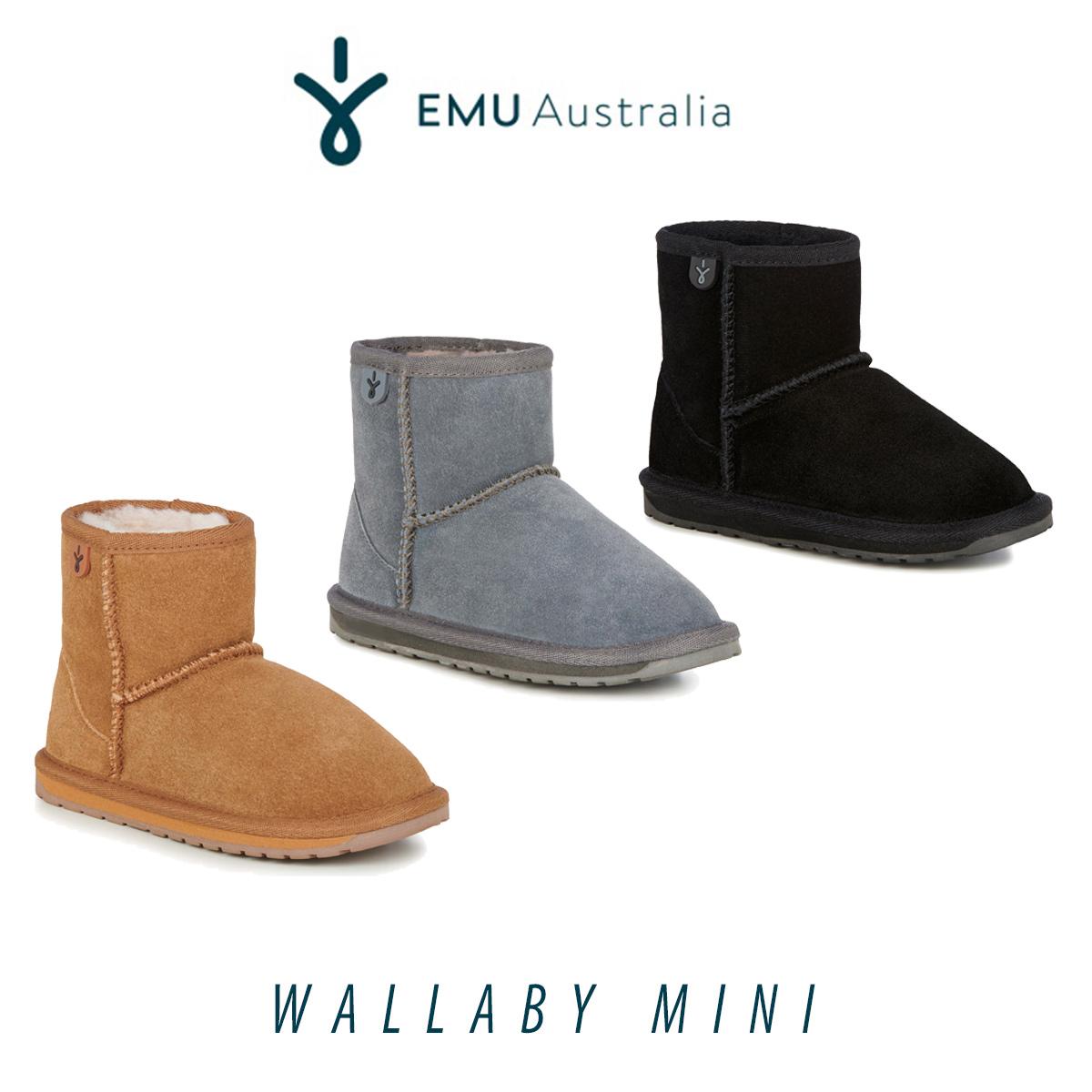 EMU Australia Wallaby Mini Ankle Boots
