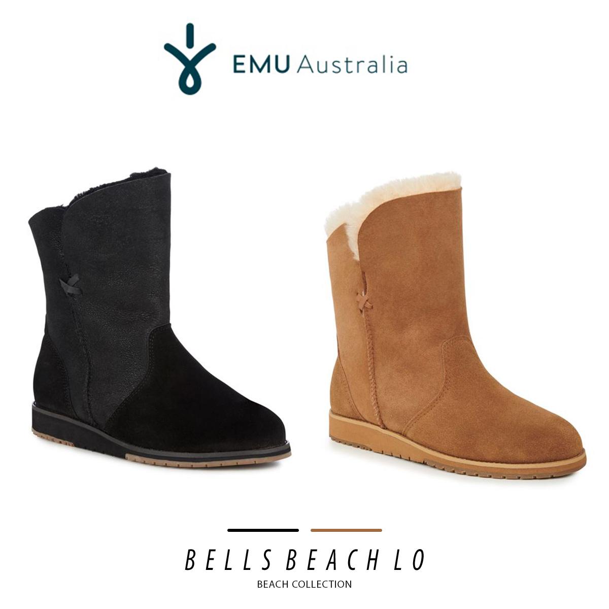 ムートン ブーツ ファー エミュ エミュー EMU ベルズビーチ Bells Beach Lo W11361 ボア レディース メンズ 2018 秋冬 送料無料