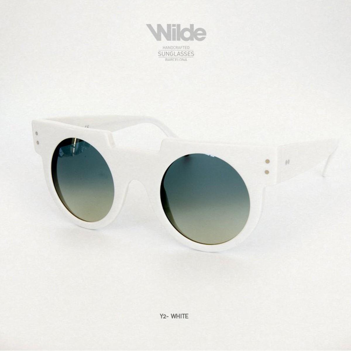 サングラス レディース メンズ Wilde SUNGLASSES ワイルドサングラス Y2 ホワイト white 送料無料