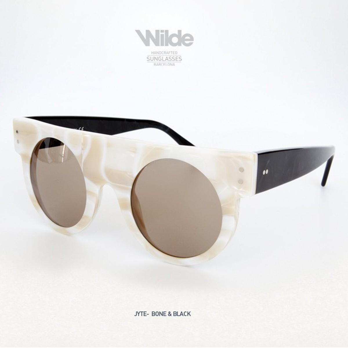 サングラス レディース メンズ Wilde SUNGLASSES ワイルドサングラス JYTE ホワイト BONE&BLACK 送料無料