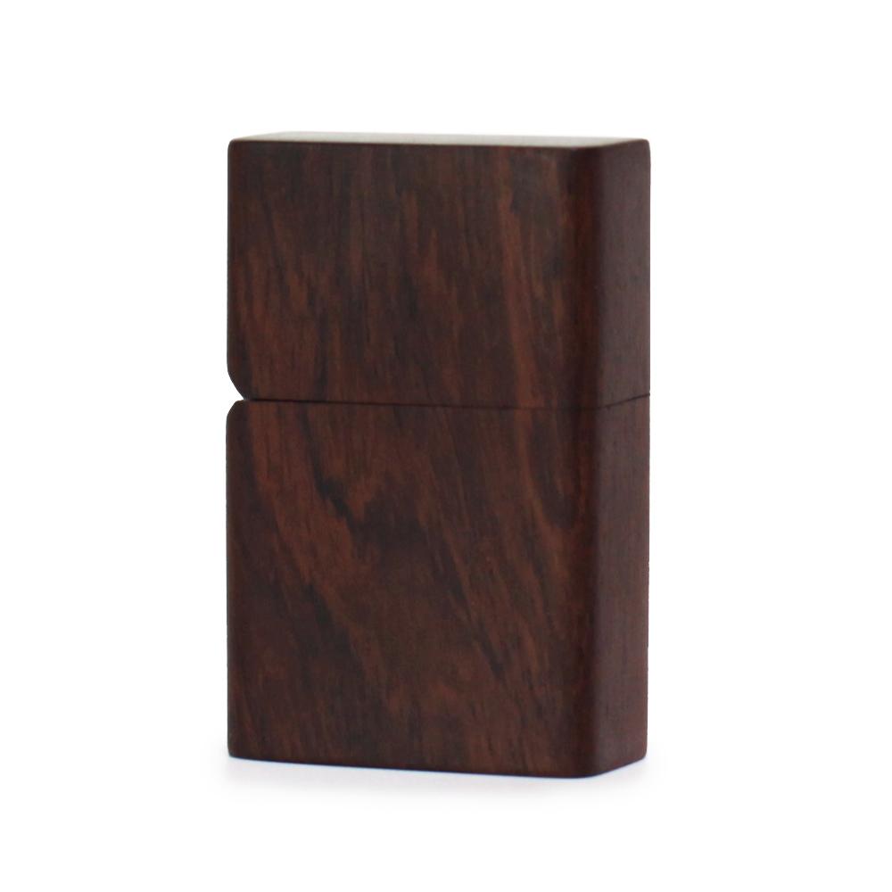 ZIPPO ジッポー用カスタムジャケット 木目が美しい天然高級黒檀素材