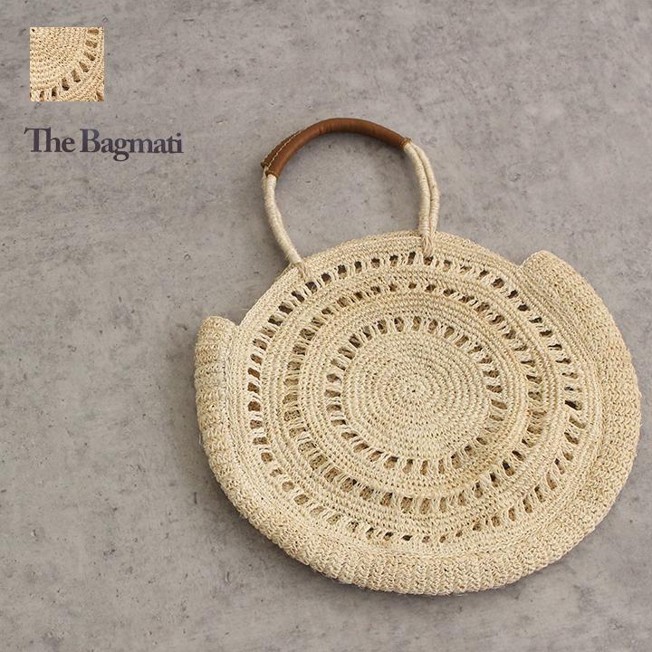 【ゆうパケット不可】The Bagmati(バグマティ)アバカラウンドカゴバッグ///