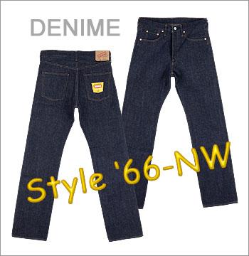 ■ DENIME(dunimu 66型号·无洗涤)(66个类型/66前期型/牛仔裤)5011-0015-NW(日本制造)