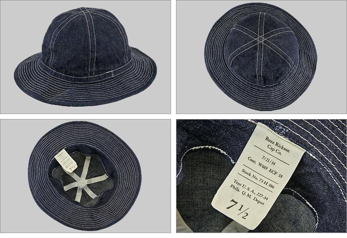 """♦ 位 (BUZZ 位的) [BR01476A] 牛仔帽"""",工作,牛仔""""(工作 / 帽子 / 军事/帽子)"""