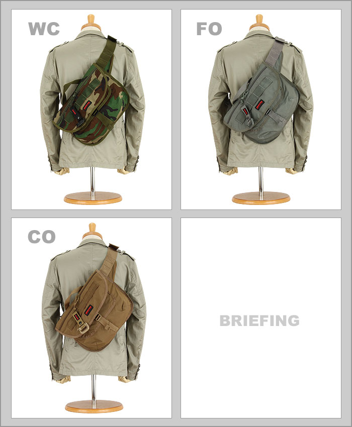 简报挎包(BRIEFING)襟翼身体包[BRF142219]BRIEFING FLIGHT LIGHT FLAP BODY BAG(美国制造简报/MADE IN USA/通勤/上学)