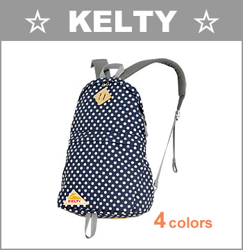 ■ KELTY(ケルティー・リュック)[2591957]☆ 限定モデル! デイパック 18L (ドット/フラワー) ☆ 全4色(花柄/ドット柄/水玉/バッグ/BAG/メンズ/レディース)