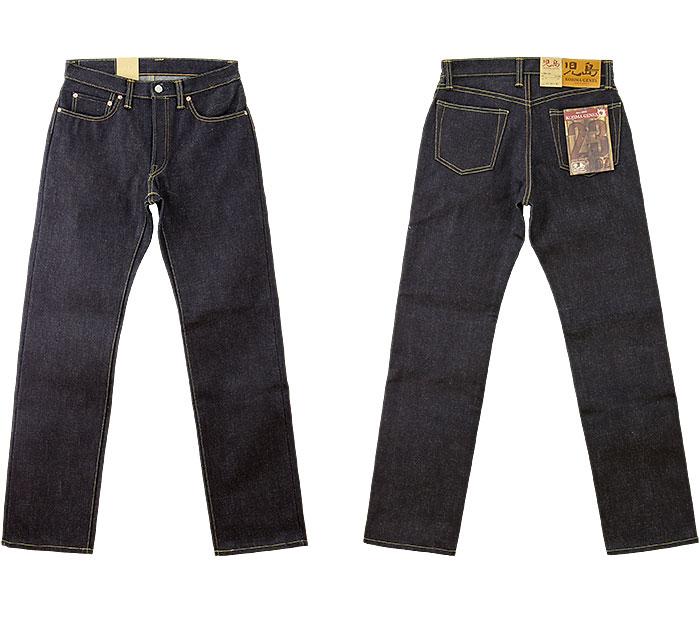 儿岛牛仔裤(KOJIMA GENES)23oz serubijjidenimuregyurasutoreto(RNB-1020)23盎司牛仔裤非洗涤/再纪德/日本制造/冈山/儿岛/复古式样/重的盎斯/糖果舵/JEANS/RNB1020