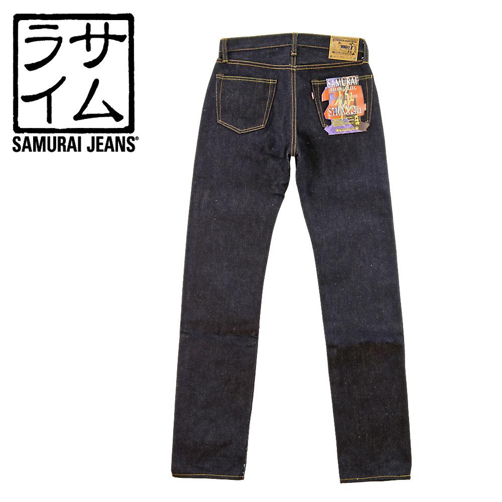 ■ SAMURAI JEANS(サムライ ジーンズ)[S710XX24OZ]24oz スリムストレート