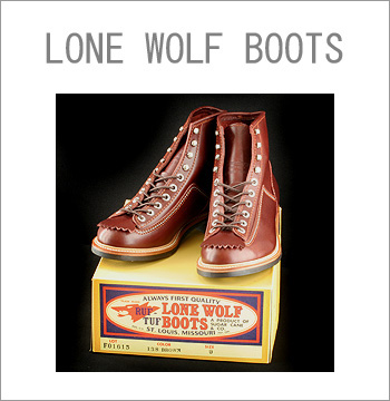 ■ LONE WOLF Leather Boots CARPENTER  STYLE F01615-138