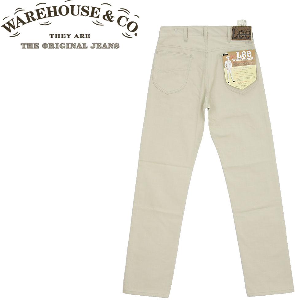 ■ WAREHOUSE x Lee (ウエアハウス x リー)【96011-51】【ARCHIVES】【Lee 100-Z/100Z】☆ 1960's ウエスターナー パンツ ☆(WESTERNER PANTS) 【ノンウォッシュ】(日本製)