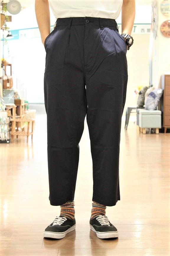 SETTO GIZA COTTON WIDE TUCK PANTS 岡山産 セット ギザコットンワイドタックパンツ 夏用 パンツ beige navy XS-L