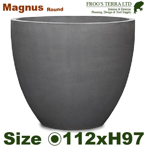 マグナス マグナス ラウンド MAGNUS L(直径112cm×H97cm)(底穴あり)セメント ファイバーグラス プランター ポット ポット プランター 店舗装飾 カフェ 大型 商業施設, MATSUYA OFFICE PORTAL:7279d564 --- sunward.msk.ru