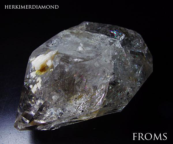 一点物約78gNY州産巨大大粒ハーキマーダイヤモンド★タビー【レアストーン】h161208○