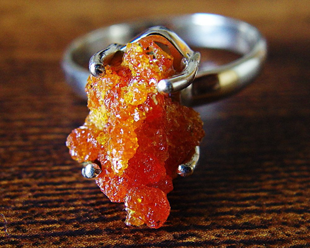 ジンカイト 一点物 ジンサイト 超レア 最高透明度 レッド 指輪 オレンジ ジンカイト リング 一点物 シルバー925 Zincite 指輪 送料無料 ジンサイト, ブランドCOME:94626473 --- sunward.msk.ru