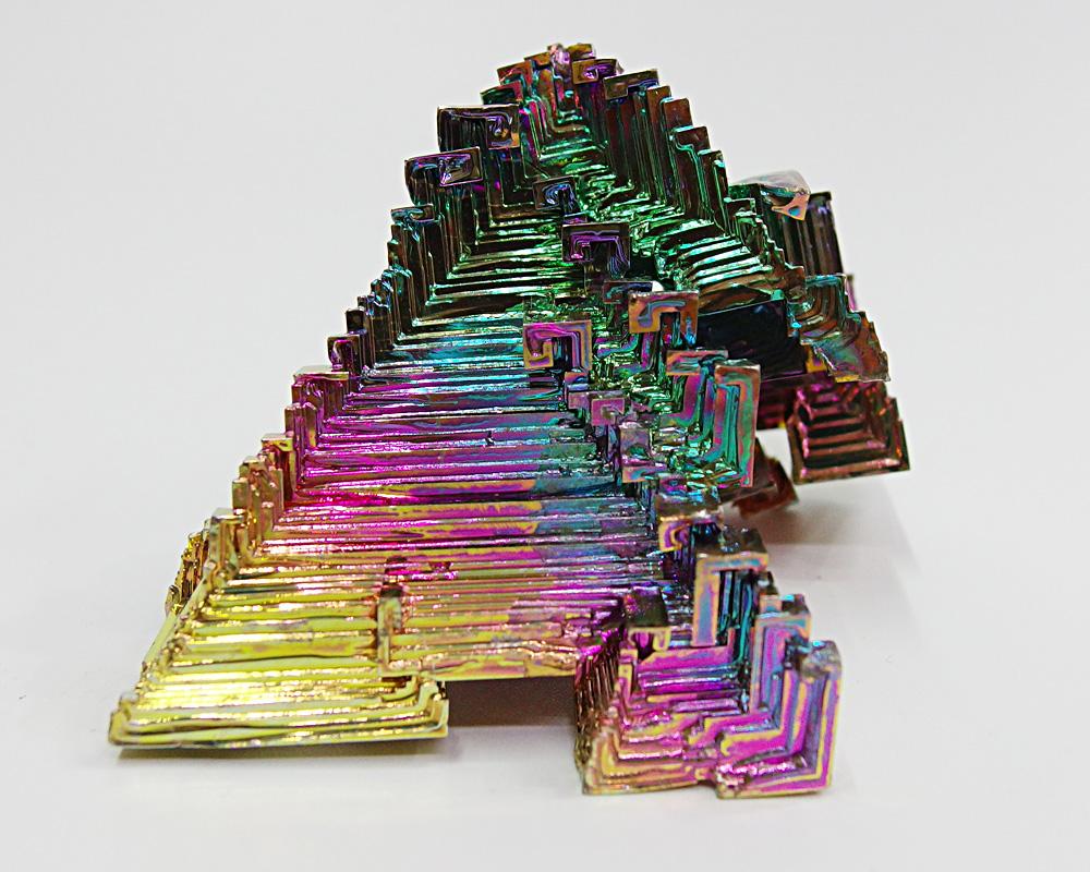 一点物 希少 巨大 約141g 元素番号83 ビスマス 結晶ビスマス 鉱石 パワーストーン レア ポイント