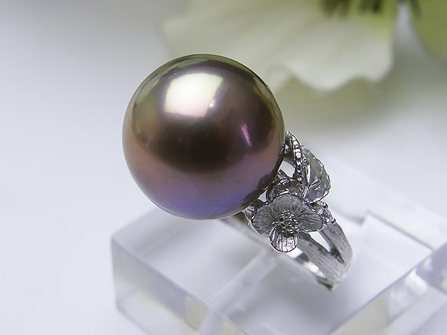 真珠リング 送料無料SV令和有核淡水真珠リングパール ジュエリー ゴールド 真珠婚 30年 パーティー1点限り プレゼント 金色 誕生日 淡水真珠