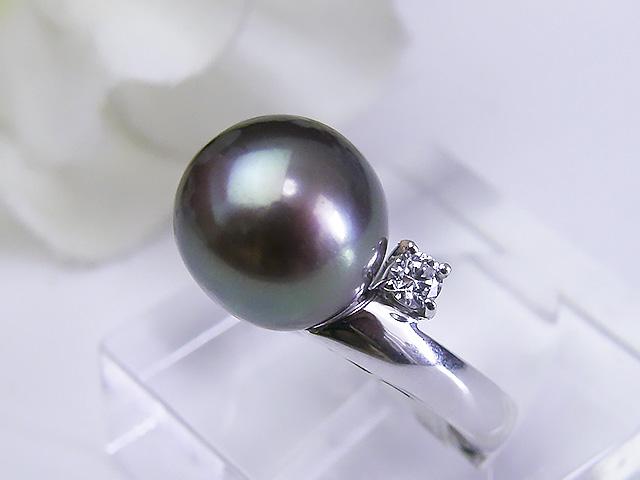 真珠リング 送料無料SV令和有核淡水真珠リングパール ジュエリー グリーン 真珠婚 30年 パーティー1点限り プレゼント お祝い 誕生日 淡水真珠