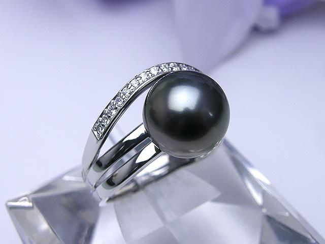 真珠リング 送料無料SV黒蝶真珠リングパール ジュエリー ゴールド 真珠婚 30年 パーティー1点限り プレゼント お祝い 誕生日 黒蝶真珠
