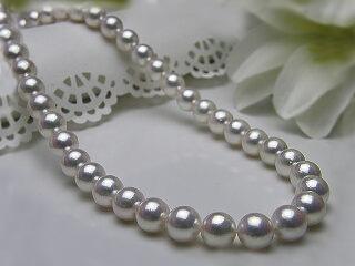 真珠ネックレス 送料無料あこや真珠フォーマル8.5×9ミリネックレスパール 入学式 真珠婚 30年 成人式 高品質 手作り 加工 お祝い 人気 真珠婚 記念品アコヤ真珠