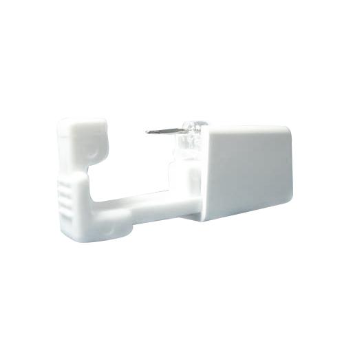 ネコポス全国送料無料 JPS セイフティ ピアッサー Safety Piercerシャンパンゴールドカラー 純チタン処理した医療用ステンレスチタンロングタイプ片耳用× 5個セット従来よりも長い8mmスタッドを採用。ピアッサー・ファーストピアス smtb s6vbgIYf7y