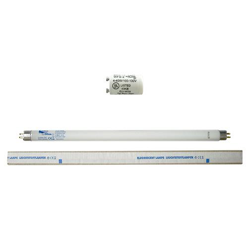 【あす楽対応】【ネオタン用消耗品】UVランプ・チューブ(蛍光管) (15W・29cm)xS2グロースターター(S-2タイプ) 各4個 セット【HLS_DU】