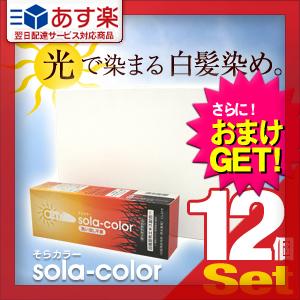【あす楽対応】【さらに選べるおまけ付き】【白髪染めクリーム】そらカラー(sola-color)光ヘアクリーム80g【12個セット】 ‐ 太陽光や自然光で白髪が自然な色に染まる新しいタイプの染毛クリーム!-V-Zone Heat Cutter any(エニィ)!【HLS_DU】【smtb-s】