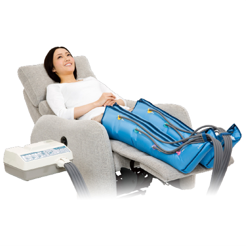 Doctormedmar (Dr.MEDOMER) DM-6000 legs set-evolved from the DM-5000EX! Air massage in healthy physical development. Your choice, choose from 4 different massage modes.
