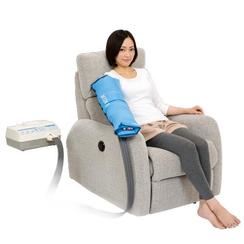 【あす楽対応】【家庭用エアマッサージ器】ドクターメドマー(Dr.MEDOMER) DM-6000 片腕セット - DM-5000EXが更に進化! エアマッサージで健康な身体づくり。お好みで選べる4種類のマッサージモード。【smtb-s】