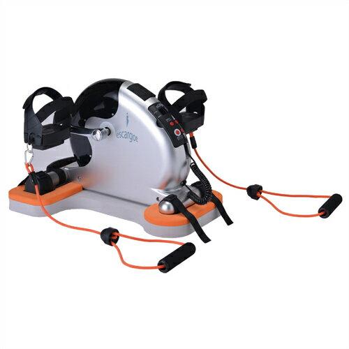【あす楽対応】【さらに選べるおまけ付き】【電動サイクルマシン】エスカルゴ2(escargot2) PBE-100 (専用安定ボード付き) -専用ストレッチバンドが付いてバージョンアップ!12段階のスピード調節、体調に合わせた最適な運動が長期的にできます。【smtb-s】【HLS_DU】