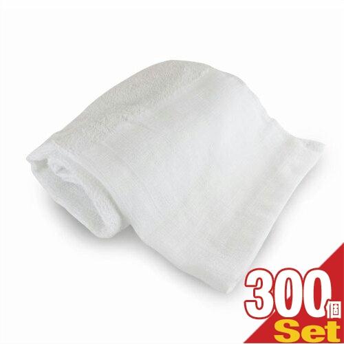 【ホテルアメニティ】業務用 スポーツタオル(大判タオル) 平地付き 綿100% 320匁 (100x40cm) × 300枚セット - 性別を問わない清潔感のあるシンプルなデザイン。軽くて乾きやすい。