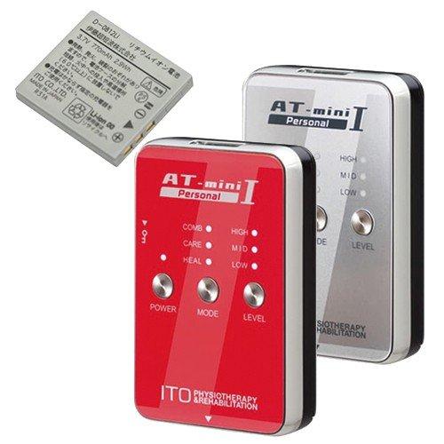 【あす楽対応】【コンディショニングケア機器】伊藤超短波 AT-mini Personal I(ATミニ パーソナル1) + リチウムイオン充電池セット - カラー:2色から選択。アスリートのコンディショニングケアをサポートするポータブル・マイクロカレント【smtb-s】