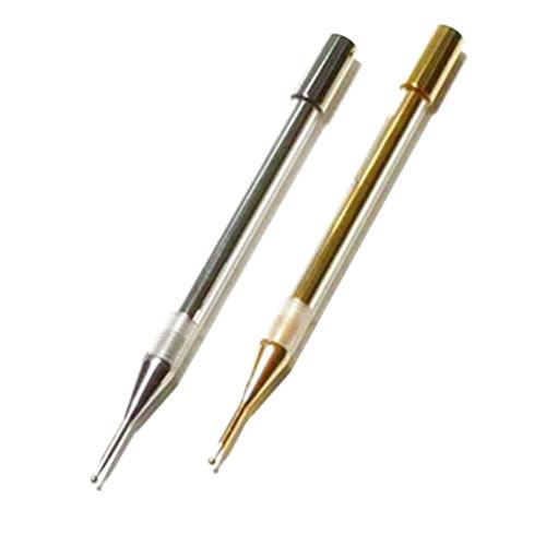 【皮膚針】ディーエースティック・エナジー(DA.Stick-Energy) クローム(-極) / ゴールド(+極)の2種から選択 - 【ダイオード入り・空気亜鉛電池付き】耳つぼスティック【smtb-s】