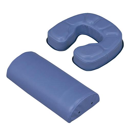【あす楽対応】【正規代理店】カナケン治療用枕 EXシリーズ EXGEL(エックスジェル) EX半円マクラ + EXフェイスマットセット - 新感触エックスジェルをぜいたくに使用し質感を高めました。スベリ止めが付き、安定感抜群です。【smtb-s】