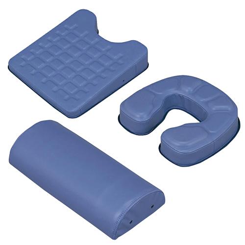 【正規代理店】カナケン治療用枕 EXシリーズ EXGEL(エックスジェル)3点セット EX半円マクラ + EXバストマット + EXフェイスマット - 新感触エックスジェルをぜいたくに使用し質感を高めました。スベリ止めが付き、安定感抜群です。【smtb-s】